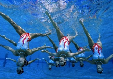 Goede resultaten voor synchroonzwemsters Het Ravijn tijdens de NK Synchrobeat