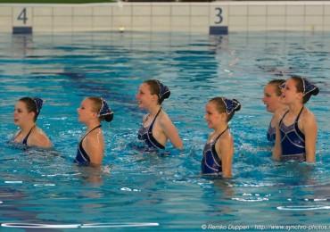 Derde techniekwedstrijd synchroonzwemsters