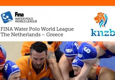 FINA World League NED-GRE in Nijverdal!
