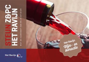 Steun onze club via de wijn- en bieractie van de heren- en damesselectie!