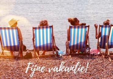 Iedereen een fijne vakantie gewenst! Tot volgend seizoen!