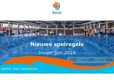 Presentatie nieuwe waterpolospelregels