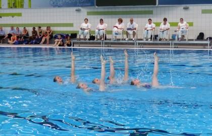 Goede resultaten Age 2 synchroonzwemmen in Alphen aan den Rijn