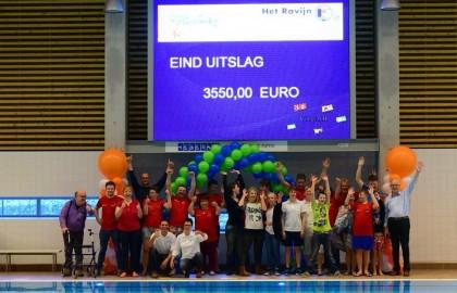 ZPC Het Ravijn haalt 3550 euro op voor Stichting Stoere Alexander