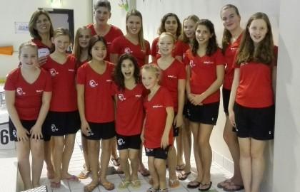 Synchroonzwemster Iris Heuten haalt prachtige 5e plaats