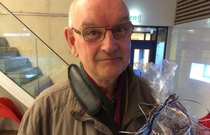 Jan van Gijssel neemt afscheid als official