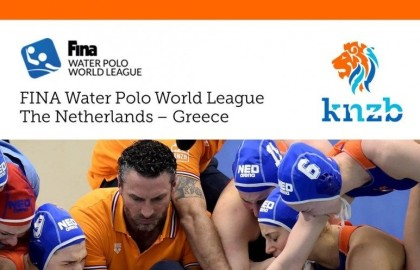 FINA World League NED-GRE in Nijverdal!