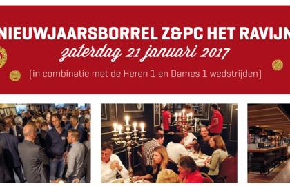 Aanstaande zaterdag 21 januari: Nieuwjaarsborrel!