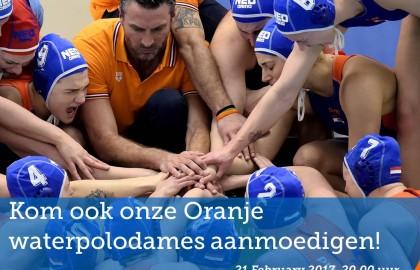 World League: Nederlandse waterpolovrouwen in Nijverdal!
