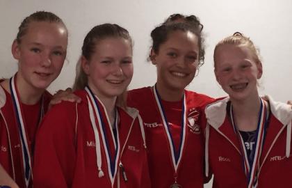 Roos Arnold tweede op de 200m schoolslag bij het NK Jeugd/Junioren
