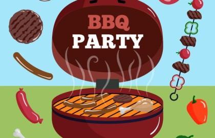 Club BBQ na het Moddit Mixtoernooi!