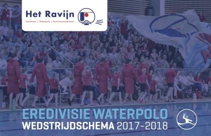 Eredivisie waterpolo wedstrijdschema Heren en Dames 1