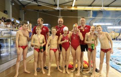 Waterpoloteam onder de 11A Kampioen!