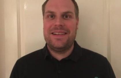 Technisch beheerder Jeroen Freriksen