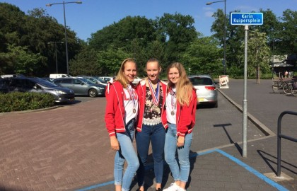 7 medailles bij de Overijsselse zwemkampioenschappen lange baan