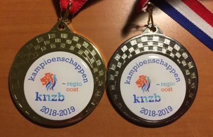 5 medailles bij de Overijsselse zwemkampioenschappen korte baan