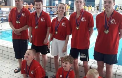 Provinciale kampioenschappen G-zwemmers